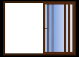 ventana corredera 3 hojas móviles