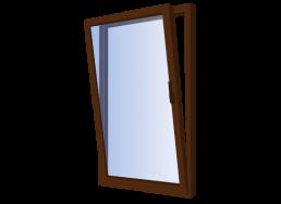 ventana doble contacto oscilante